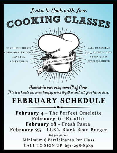 North Fork Cooking Class